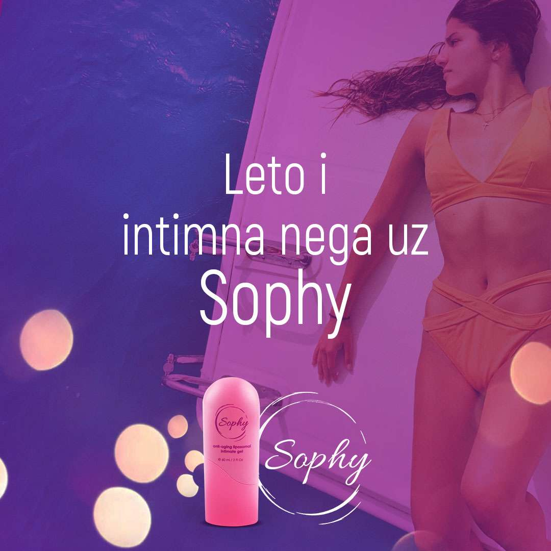 Sophy gel je preparat koji sluzi za negu intimne regije i prevenira razvoj bakterija. I leti i zimi.